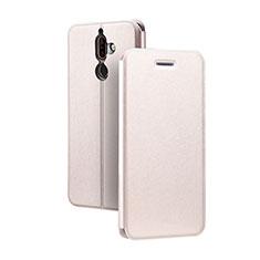 Funda de Cuero Cartera con Soporte para Nokia 7 Plus Rosa