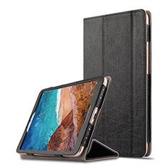Funda de Cuero Cartera con Soporte para Xiaomi Mi Pad 4 Plus 10.1 Negro