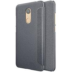 Funda de Cuero Cartera con Soporte para Xiaomi Redmi Note 5 Indian Version Negro