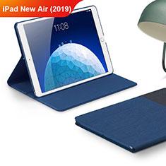 Funda de pano Cartera con Soporte para Apple iPad Air 3 Azul