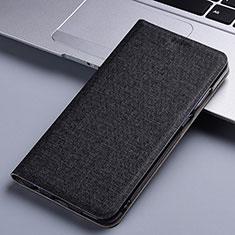 Funda de pano Cartera con Soporte para Samsung Galaxy A81 Negro