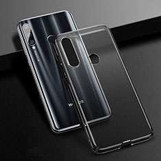 Funda Dura Cristal Plastico Rigida Transparente K01 para Huawei Honor 20 Lite Negro