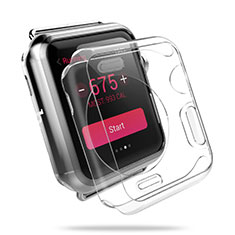 Funda Dura Cristal Plastico Rigida Transparente para Apple iWatch 3 38mm Claro