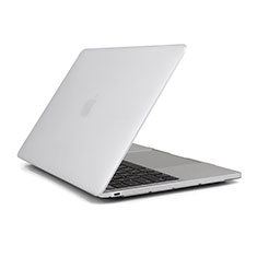 Funda Dura Cristal Plastico Rigida Transparente para Apple MacBook Air 13 pulgadas (2020) Claro