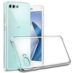 Funda Dura Cristal Plastico Rigida Transparente para Asus Zenfone 4 ZE554KL Claro
