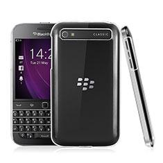 Funda Dura Cristal Plastico Rigida Transparente para Blackberry Classic Q20 Claro