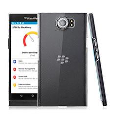 Funda Dura Cristal Plastico Rigida Transparente para Blackberry Priv Claro