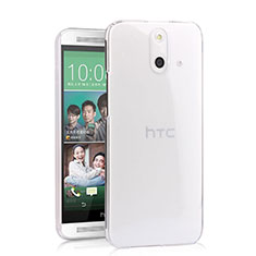 Funda Dura Cristal Plastico Rigida Transparente para HTC One E8 Claro