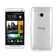 Funda Dura Cristal Plastico Rigida Transparente para HTC One M7 Claro