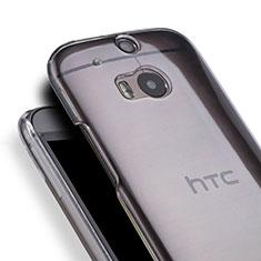 Funda Dura Cristal Plastico Rigida Transparente para HTC One M8 Claro
