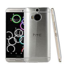 Funda Dura Cristal Plastico Rigida Transparente para HTC One M9 Plus Claro