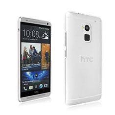 Funda Dura Cristal Plastico Rigida Transparente para HTC One Max Claro