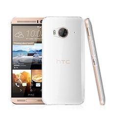 Funda Dura Cristal Plastico Rigida Transparente para HTC One Me Claro