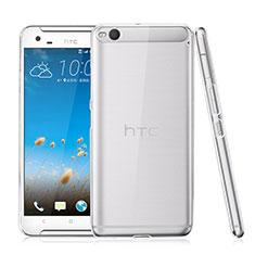 Funda Dura Cristal Plastico Rigida Transparente para HTC One X9 Claro