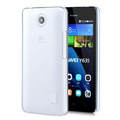 Funda Dura Cristal Plastico Rigida Transparente para Huawei Ascend Y635 Dual SIM Claro