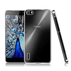 Funda Dura Cristal Plastico Rigida Transparente para Huawei Honor 6 Claro