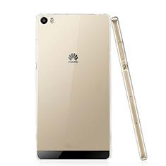 Funda Dura Cristal Plastico Rigida Transparente para Huawei P8 Max Claro