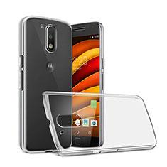 Funda Dura Cristal Plastico Rigida Transparente para Motorola Moto G4 Plus Claro