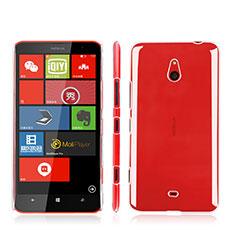 Funda Dura Cristal Plastico Rigida Transparente para Nokia Lumia 1320 Claro