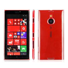 Funda Dura Cristal Plastico Rigida Transparente para Nokia Lumia 1520 Claro
