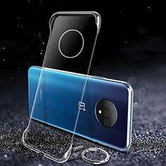 Funda Dura Cristal Plastico Rigida Transparente para OnePlus 7T Claro