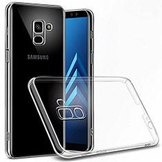 Funda Dura Cristal Plastico Rigida Transparente para Samsung Galaxy A6 (2018) Claro