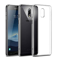 Funda Dura Cristal Plastico Rigida Transparente para Samsung Galaxy C7 (2017) Claro