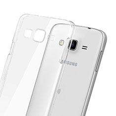 Funda Dura Cristal Plastico Rigida Transparente para Samsung Galaxy J3 Claro