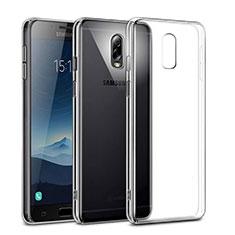 Funda Dura Cristal Plastico Rigida Transparente para Samsung Galaxy J7 Plus Claro
