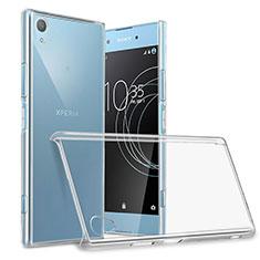 Funda Dura Cristal Plastico Rigida Transparente para Sony Xperia XA1 Plus Claro
