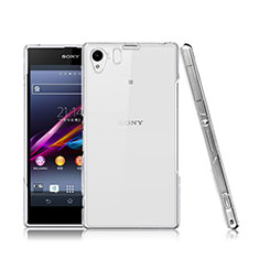 Funda Dura Cristal Plastico Rigida Transparente para Sony Xperia Z1 L39h Claro
