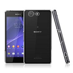 Funda Dura Cristal Plastico Rigida Transparente para Sony Xperia Z3 Compact Claro