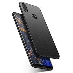 Funda Dura Plastico Rigida Carcasa Fino Arenisca para Huawei Honor Note 10 Negro