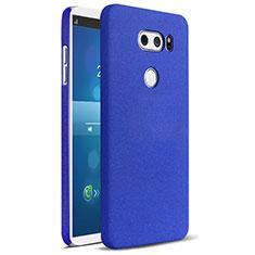 Funda Dura Plastico Rigida Carcasa Fino Arenisca para LG V30 Azul