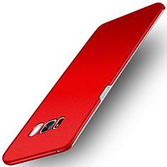 Funda Dura Plastico Rigida Carcasa Fino Arenisca para Samsung Galaxy S8 Rojo