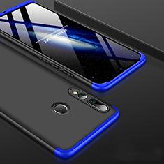 Funda Dura Plastico Rigida Carcasa Mate Frontal y Trasera 360 Grados para Huawei Honor 20 Lite Azul y Negro