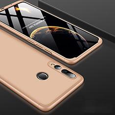 Funda Dura Plastico Rigida Carcasa Mate Frontal y Trasera 360 Grados para Huawei Honor 20 Lite Oro