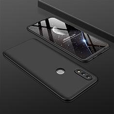 Funda Dura Plastico Rigida Carcasa Mate Frontal y Trasera 360 Grados para Huawei P Smart (2019) Negro