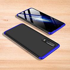 Funda Dura Plastico Rigida Carcasa Mate Frontal y Trasera 360 Grados para Xiaomi Mi 9 Pro Azul y Negro