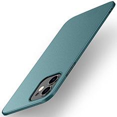 Funda Dura Plastico Rigida Carcasa Mate M01 para Apple iPhone 12 Verde