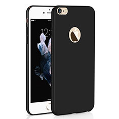 Funda Dura Plastico Rigida Carcasa Mate M01 para Apple iPhone 6S Plus Negro