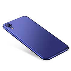 Funda Dura Plastico Rigida Carcasa Mate M01 para Apple iPhone XR Azul