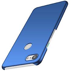 Funda Dura Plastico Rigida Carcasa Mate M01 para Google Pixel 3 Azul