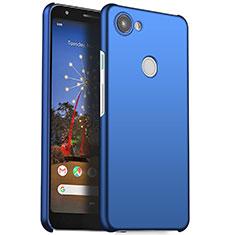 Funda Dura Plastico Rigida Carcasa Mate M01 para Google Pixel 3a Azul