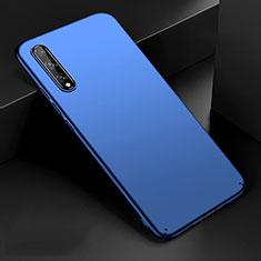 Funda Dura Plastico Rigida Carcasa Mate M01 para Huawei Enjoy 10S Azul