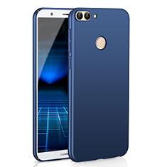 Funda Dura Plastico Rigida Carcasa Mate M01 para Huawei Enjoy 7S Azul