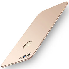 Funda Dura Plastico Rigida Carcasa Mate M01 para Huawei Enjoy 8 Plus Oro