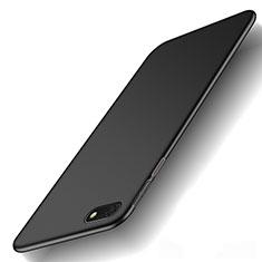 Funda Dura Plastico Rigida Carcasa Mate M01 para Huawei Enjoy 8e Lite Negro