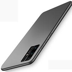Funda Dura Plastico Rigida Carcasa Mate M01 para Huawei Honor 30 Negro