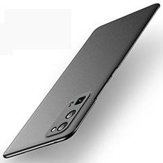 Funda Dura Plastico Rigida Carcasa Mate M01 para Huawei Honor 30 Pro Negro